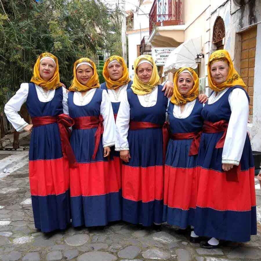 Super folclor Grecia