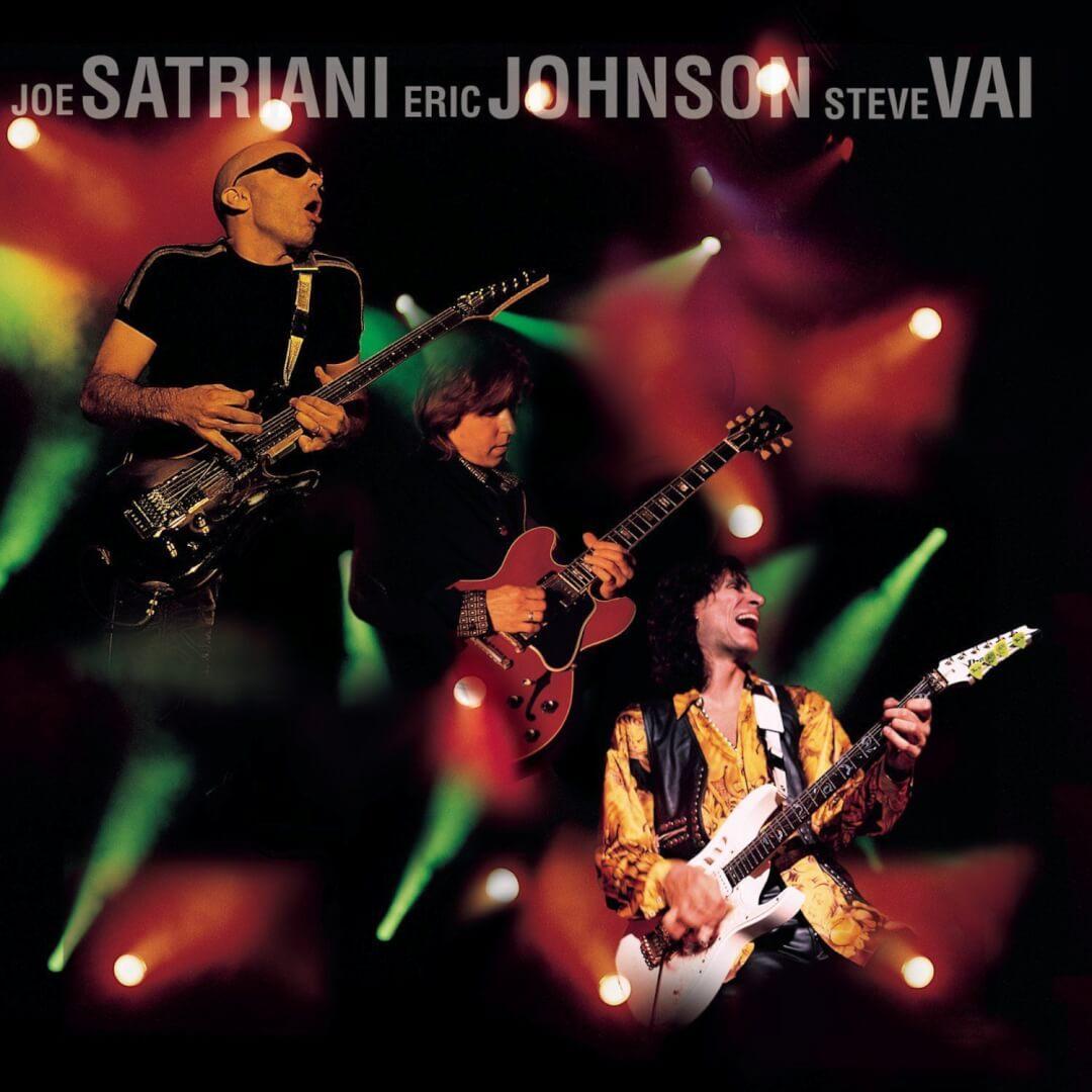 Super Concert G3 Steve Vai Joe Satriani si Eric Johnson