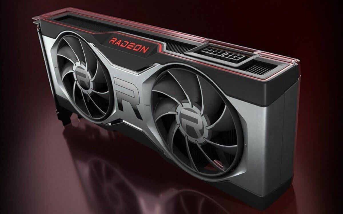 Super Tech Fan AMD placa video Radeon 6100XT