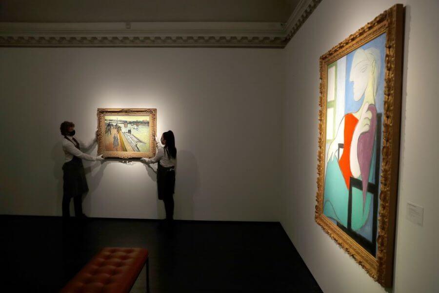 SuperSonic Radio - Londra: Tablouri de Picasso, Mondrian și Van Gogh au fost expuse de o casă de licitații
