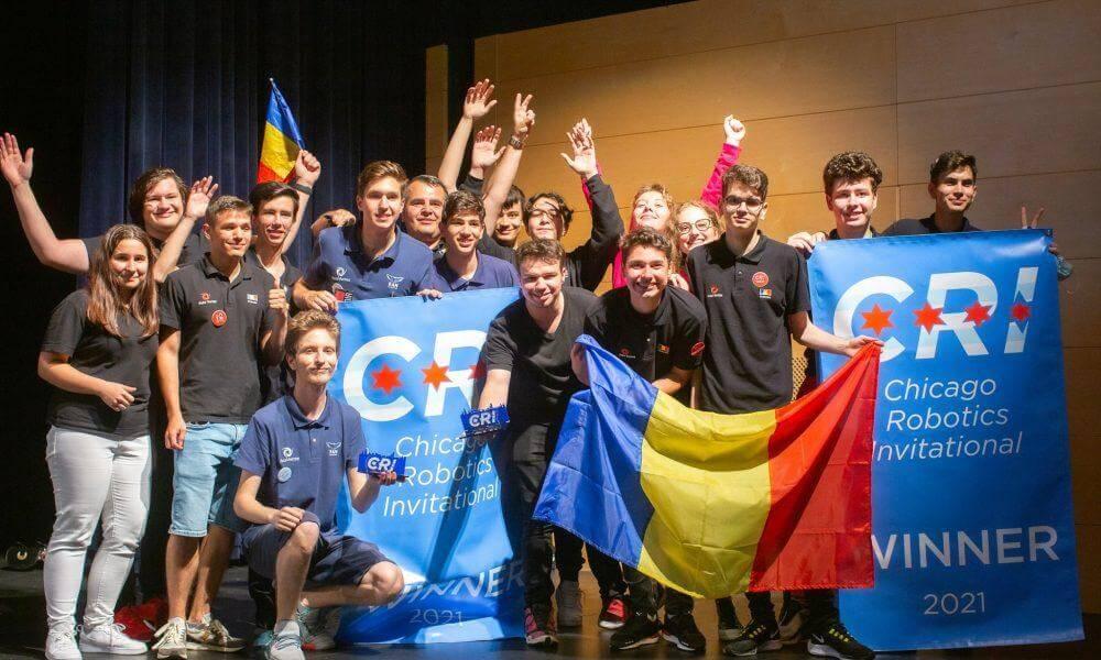 SuperSonic Radio - Echipa de Robotică a României a obţinut locul întâl la Campionatul Internaţional de la Chicago