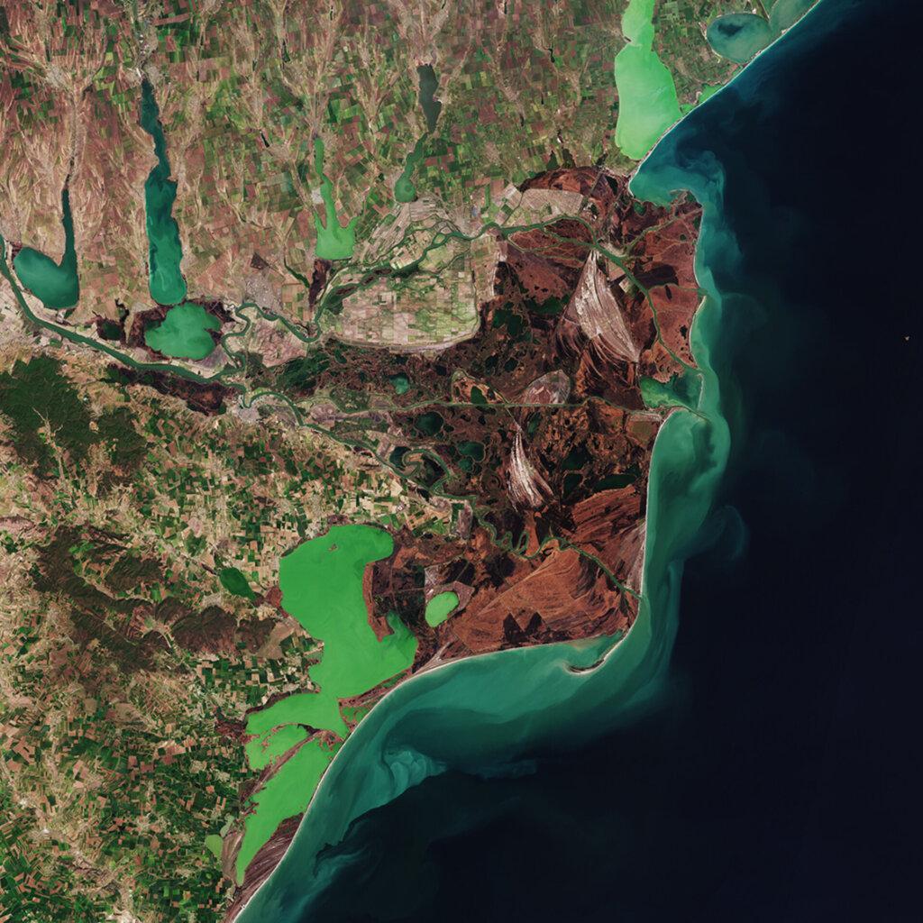 SuperSonic Radio - Pământul văzut din spațiu: Delta Dunării